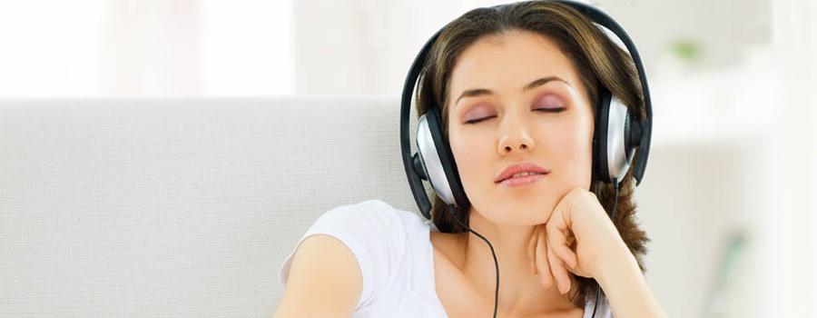 Навигатор - прослушивание музыки в магазине